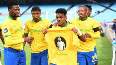 Mamelodi Sundowns & KRC Genk Pay Tribute to Anele Ngcongca!