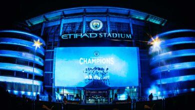 Manchester City Players Celebrate Their League Triumph!