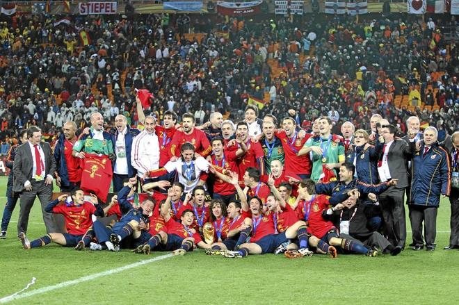 Remember Spain's 2010 FIFA World Cup Winning Squad!