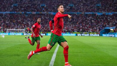 Check Out The Records Cristiano Ronaldo Broke After Scoring Twice Against France!