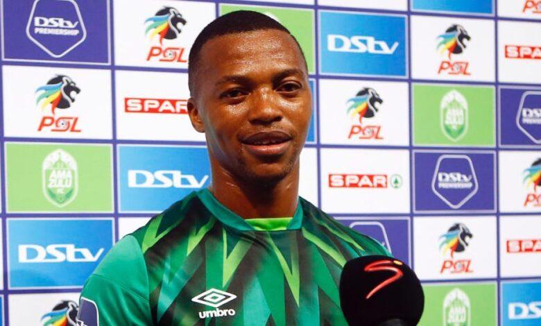 Thembela Sikhakhane Looking Forward to New Season for AmaZulu!