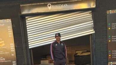Lucky Lekgwathi Expresses Pain After His Grootman Restaurant Is Looted!