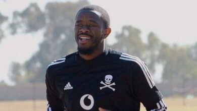 New Signing Mgonyama Happy To Play Wherever the Coach Sees Fit!