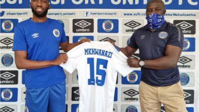 Kaitano Tembo Grateful to Have Buhle Mkhwanazi at SuperSport United!