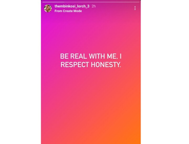 Thembinkosi Lorch & Girlfriend Natasha Thahane Apparently In Bad Blood!