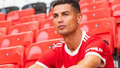 Pictures! Cristiano Ronaldo Walks Into Old Trafford For The Time Once Again!