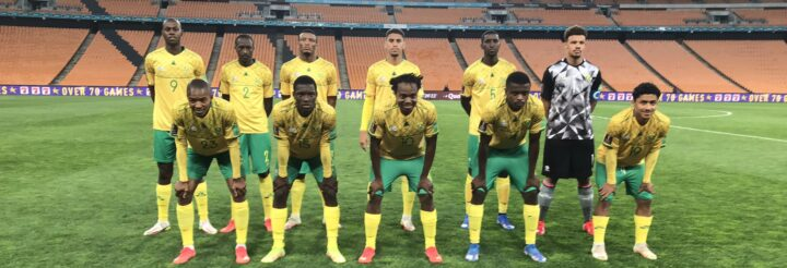 Bafana Bafana Beat Ghana to Top FIFA World Cup Qualifying Group!