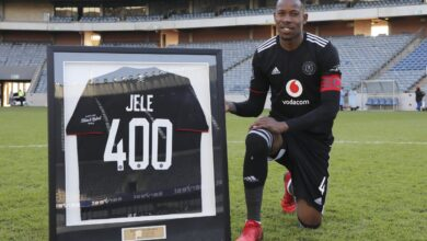 Happy Jele Feels Honoured to Play for Orlando Pirates!