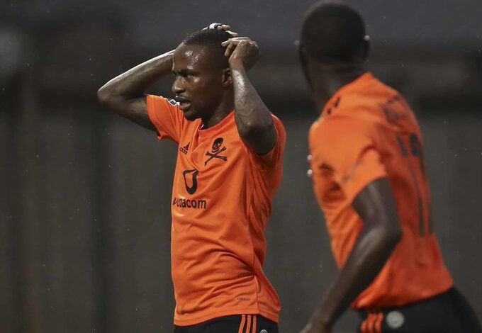 Thembinkosi Lorch Ruled Out for The Rest Of 2021!