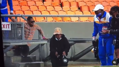 Andile Mpisane Celebrates Kaizer Chiefs Win with Three Bottles of Ace of Spades!