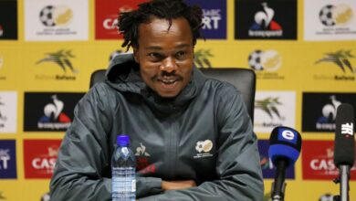 Percy Tau Aiming for Victory Against Ghana in FIFA World Cup Qualifier!