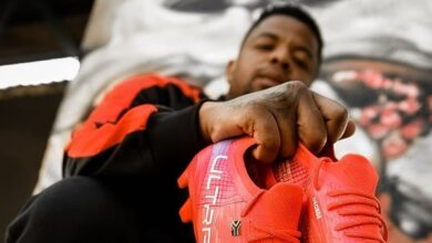 Take A Look at Soccer Star George Lebese in His Puma Gear!