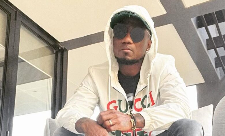 Teko Modise Has Surprised Many with His New Fashion Statements!