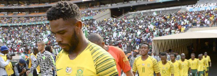 Thulani Hlatshwayo Not Angry for Losing His Bafana Bafana Place!