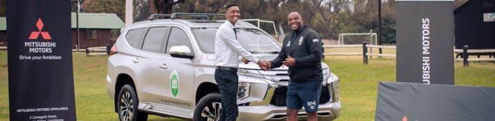 Benni McCarthy Gifted a Brand New R800 000 Mitsubishi Pajero!