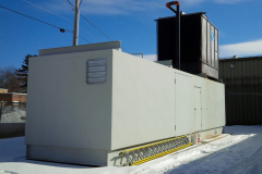 Cooling Tower Pump Enclosure with Expansion Room