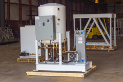 Dual Loop System Pump Stations and Cooling Tower Stand