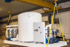 Furnace Cooling Package With Multiple Pump Banks