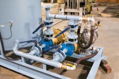 Duplex Electric Pumps plus an Air-Powered Back-Up Pump