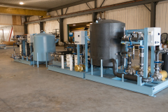 Large Heating and Cooling System