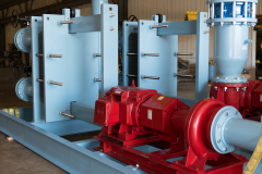 Frame Mounted Pumps and Duplex Heat Exchangers