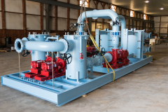 Large Pumping and Filtering System