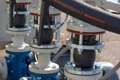 Triplex Pumps with Flexible Mounts
