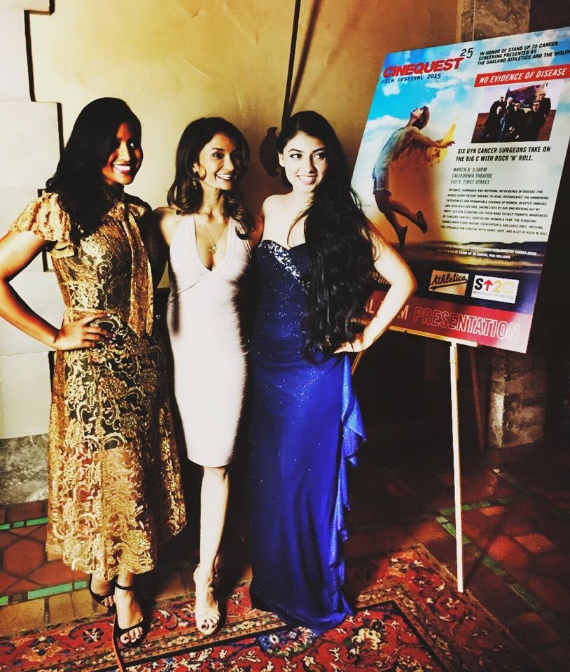 With Tiya Sircar and Anushka Rani