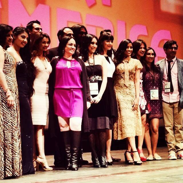 Member of the cast and team of Miss India America at Cinequest 2015