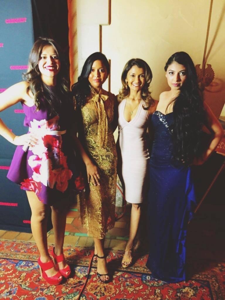 With Kosha Patel, Tiya Sircar, and Anushka Rani