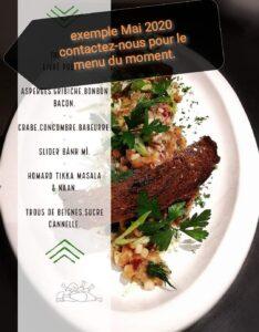 menu mai 2020 take out
