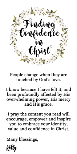 finding confidence in Christ