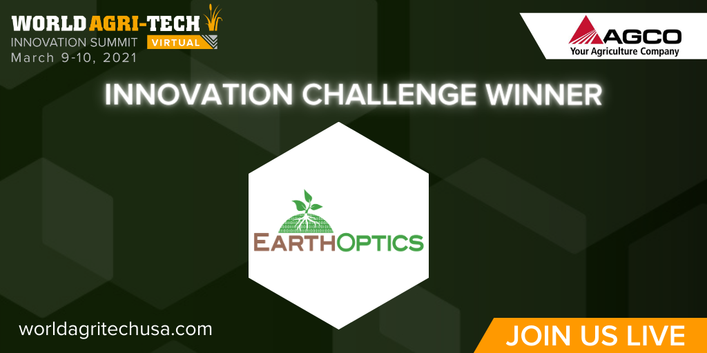 EarthOptics AGCO Innovation Challenge Winner