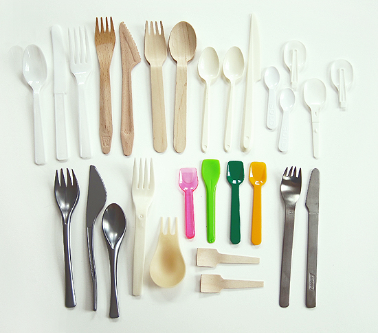 My collection of disposable flatware
