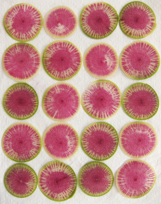 WatermelonRadishes