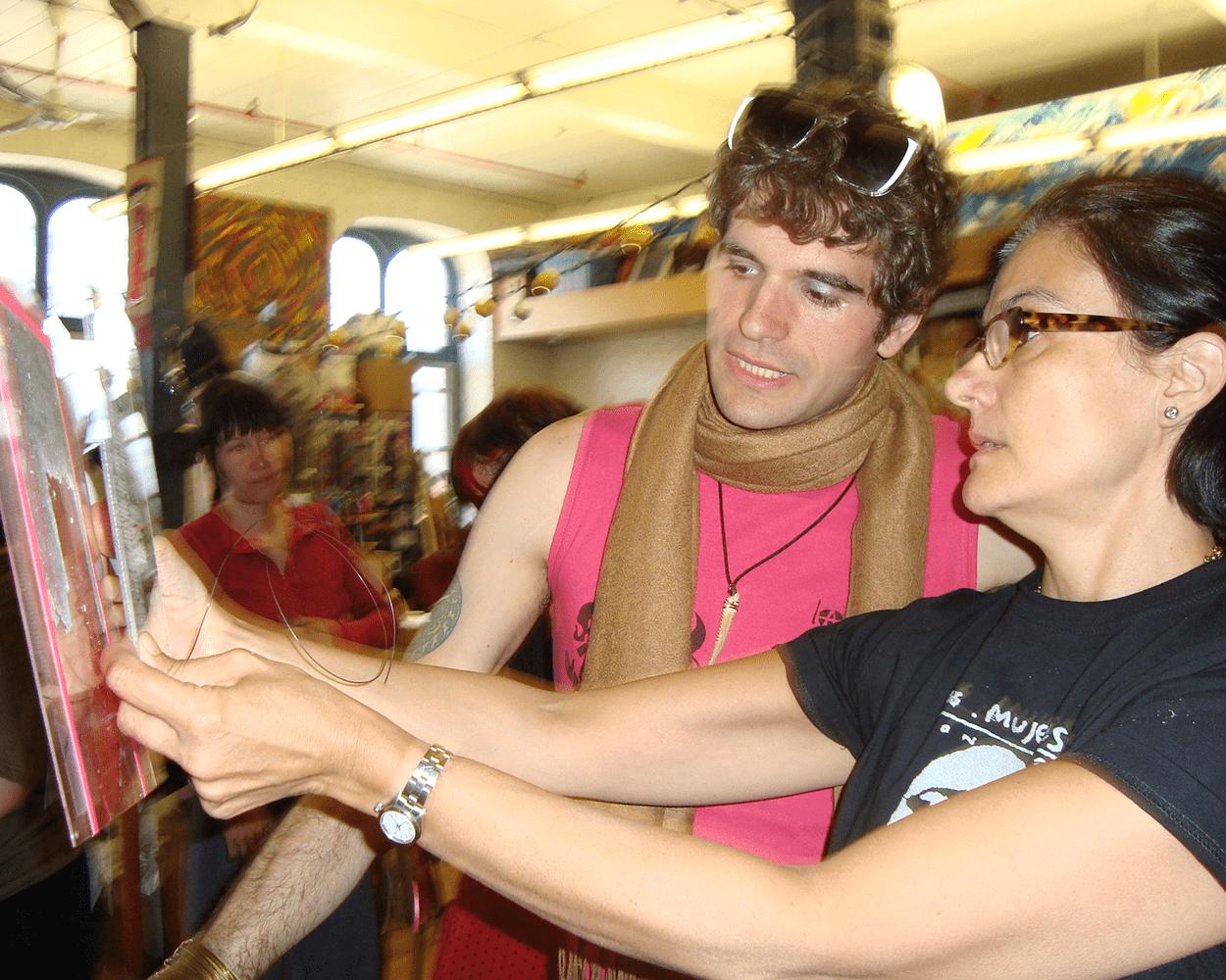 Elena Soni with Student
