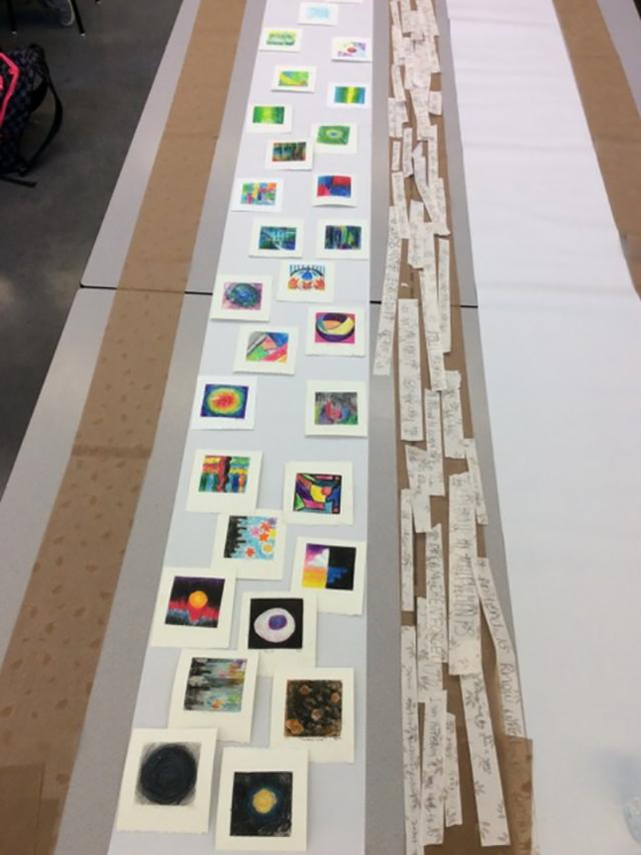 Creative Process of Student Art Making