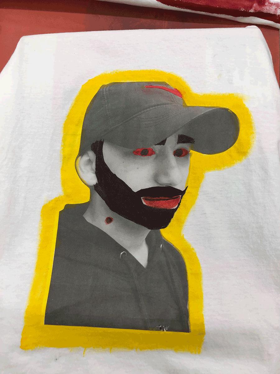 Student self-portrait