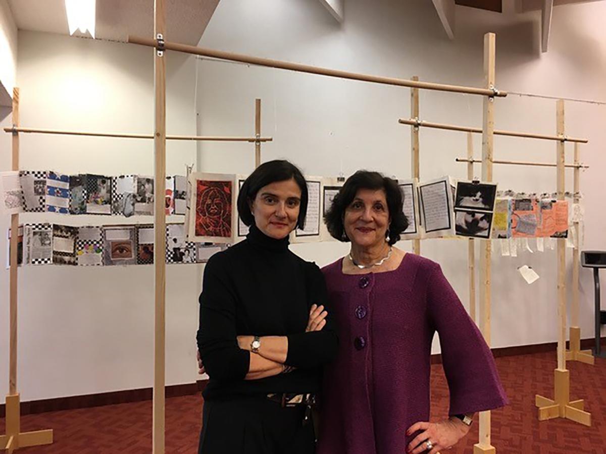 Elena Soni and Vanessa Barnett