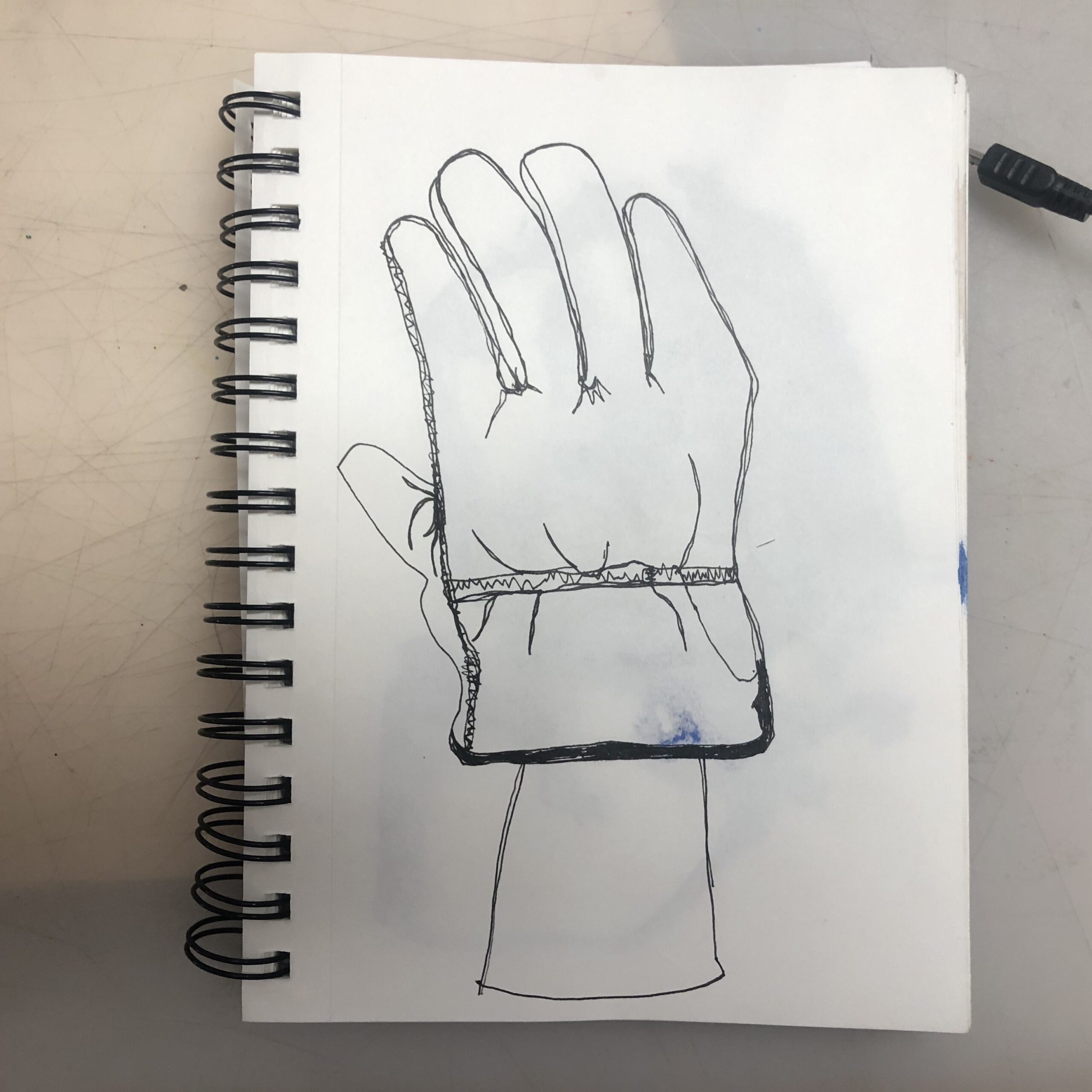 Glove-Drawing
