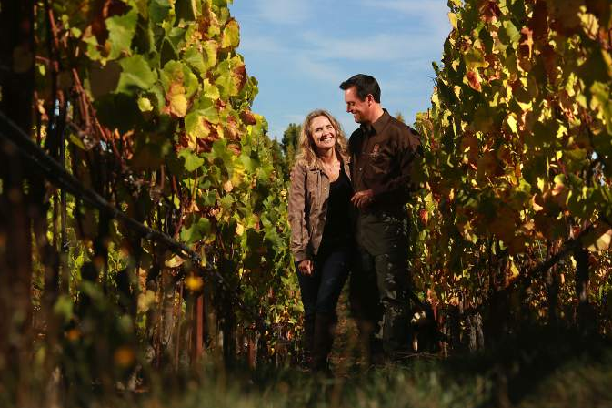 Small Vines Wines owners Paul and Kathryn Sloan (JOHN BURGESS/ PD)