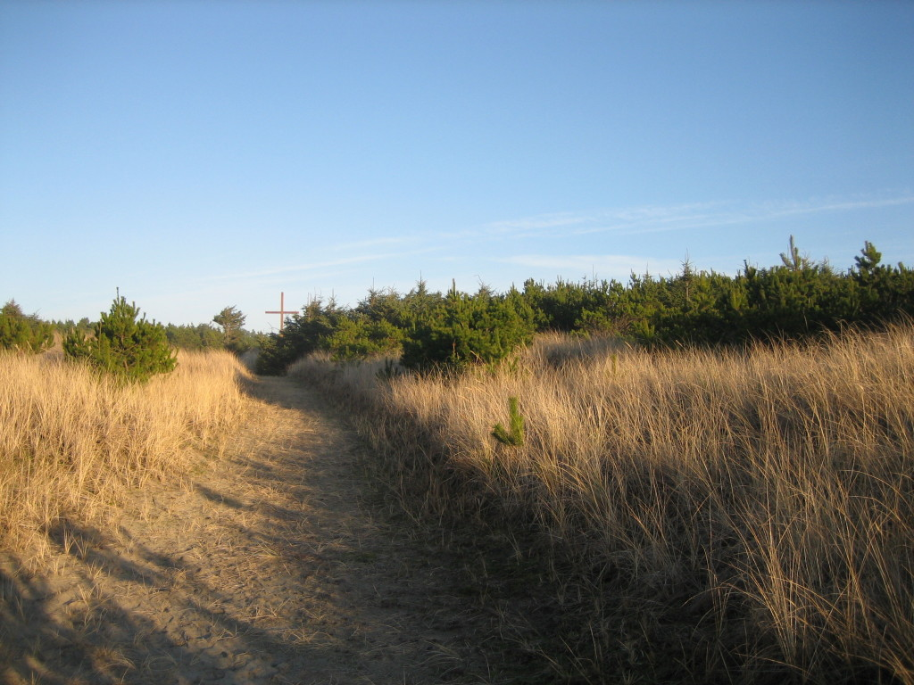 Path back to the center