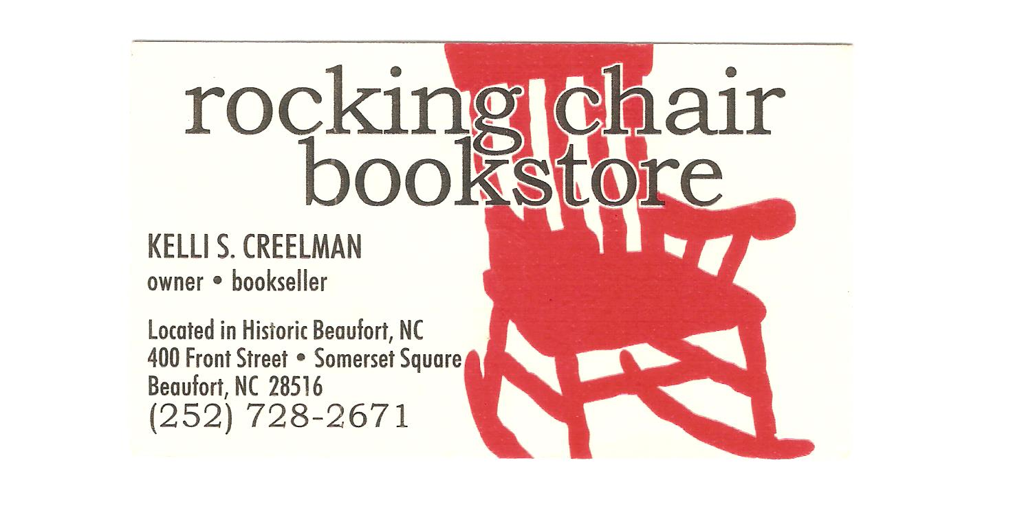 Rocking Chair Bookstore Card 001