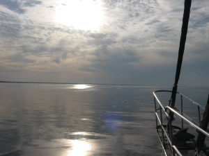 Anchoring on the Alligator River