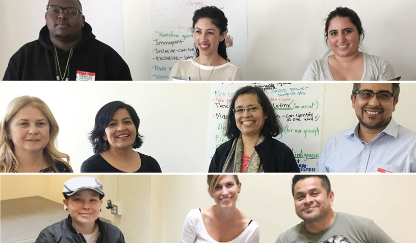 Past Trainings: Latino Equity Project Trainings September – October 2019