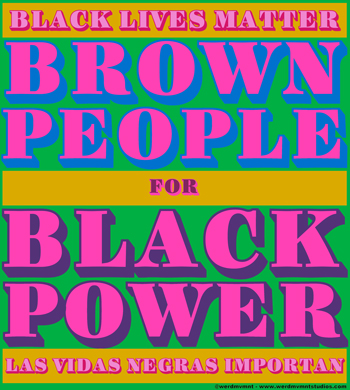 Brown Folx 4 Black Lives Statement