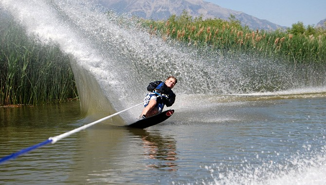 Looking for smooth and nearby water? Utah Lake has both
