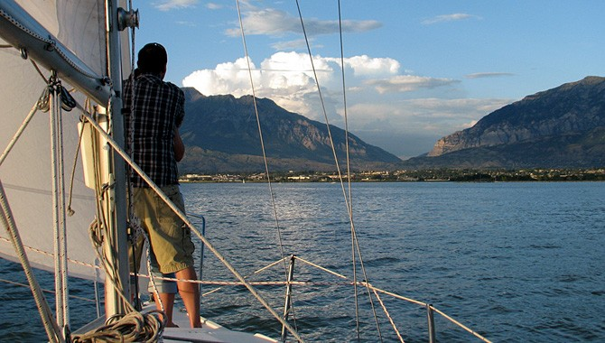 Looking for something new? Why not sail Utah Lake this time