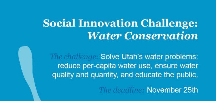 UVU Student Innovation Challenge: Conserving Water in Utah County