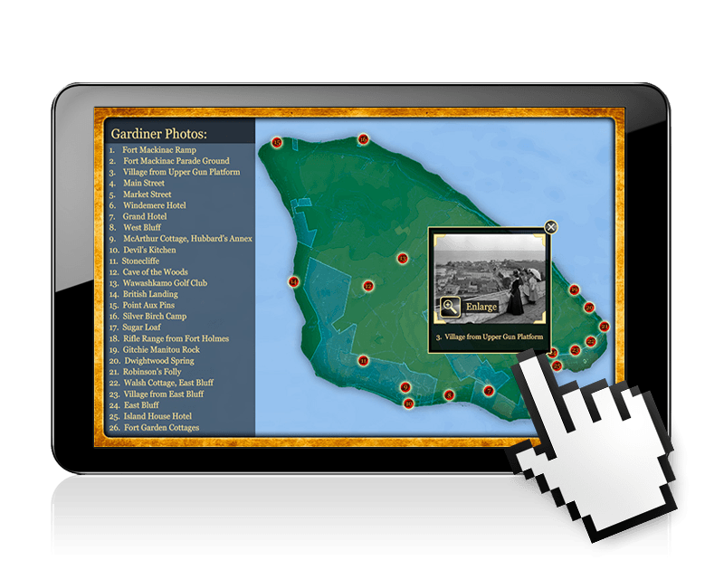 Gardiner's Mackinac and Mapping the Great Lakes